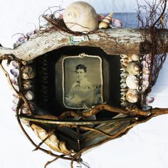 Glimmering Prize: Mixed Media Collage and Assemblage by Lorraine Reynolds: ARTFEST 2012