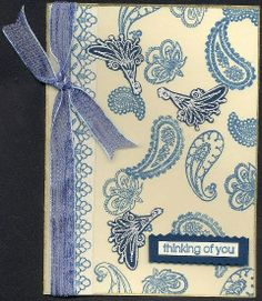 Thinking of you (blue Paisley) -JBgreendawn 2006