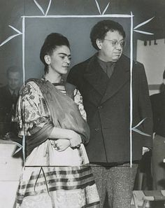 Frida Kahlo and Diego Rivera 1941 Photo: File Photo, Chronicle File Photo