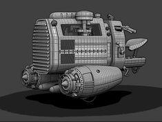 HOVER BIKE IV by Jomar Machado | Transport | 3D | CGSociety