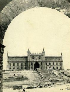 Budowa placu Zebrań Ludowych (placu Zamkowego), 1954 rok, for. M. Jaworski