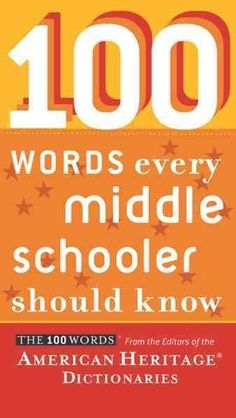 """Read Words Every Middle Schooler Should Know"""" by Editors of the American Heritage Dictionaries available from Rakuten Kobo. More is expected of middle schoolers—more reading, more writing, more independent learning. Achieving success in this mo. Vocabulary Instruction, Teaching Vocabulary, Teaching Writing, Teaching English, Vocabulary Activities, Vocabulary Strategies, Vocabulary List, English Teachers, Writing Resources"""