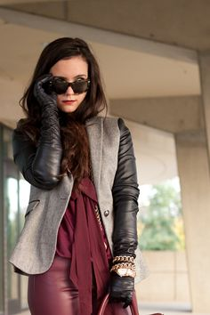 District Dress Up: Leather Oxblood