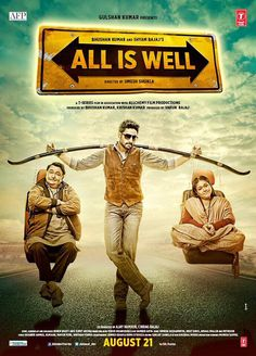 All Is Well Bollywood Movie 2015 Start With Average Occupancy on Opening Day .See Abhishek Bachchan First (1st) Day Box Office Collection of All Is Well.