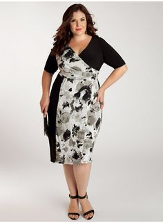 Danni Plus Size Dress - Work Wear Collection by IGIGI