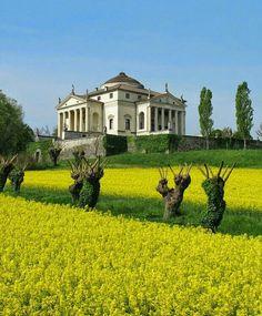 Villa La #Rotonda, #Palladio, Vicenza, Veneto