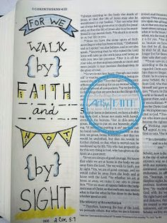 Artsy Faith: Bible Art Journaling 101 Lesson 4 | Class Pics