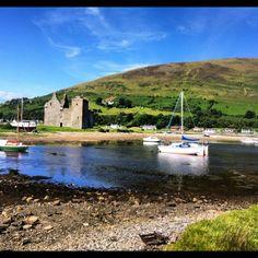 Isle of Arran in Arran, North Ayrshire