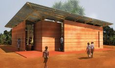 Winners of 4th Earth Architecture Competition - 1st prize winning design