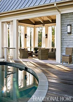 Low country Home with Neutral Palette #BHGRESummerofColor