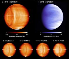 Japanese spacecraft spots planet-spanning wave on Venus – 1/22/17 Astronomy Now