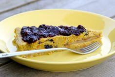 Panne-cake, een mislukt pannenkoek recept wordt een taart. Met pompoen en boekwijtmeel - www.deverbeelder.nl