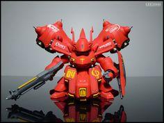 GUNDAM GUY: [MagicBox] SD Nightingale - Customized Build