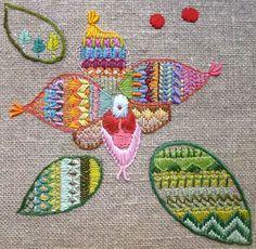 Mejores proyectos de bordado del 2013 / Best embroidery projects of 2013 / Meilleurs projets de brodérie de 2013 - Yolanda Andrés http://www.yolandaandres.com/ENCARGOS_bolsos_10.html