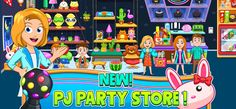 My City : Pajama Party on the App Store Fun New Games, Games For Kids, Games To Play, Pajama Party Games, Pj Party, Create Your Own World, Interactive Toys, Bath Toys, Party Stores
