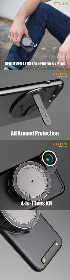 REVOLVER LENS CAMERA KIT FOR IPHONE 7  cool gadget useful gadget iphone accessories #gadget