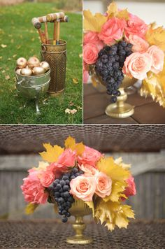 unique wedding centerpieces using fruit