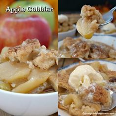Apple Cobbler is a perfect dessert for the fall season. Loaded with juicy Honeycrisp apples along with tart Granny Smith apples for a perfect combination. Fun Desserts, Delicious Desserts, Dessert Recipes, Awesome Desserts, Summer Desserts, Apple Cobbler Easy, Apple Crisp, Cobbler Topping, Cobbler Recipe