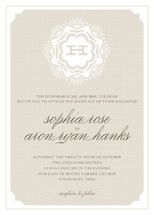 Grand Lace Wedding Invitations by Carrie ONeal | Minted