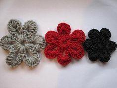 Crochet Spot » Blog Archive » Crochet Pattern: Simple Six Petal Flower - Crochet Patterns, Tutorials and News