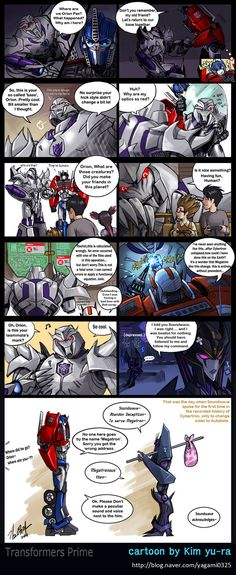This is pretty cool-I mean yeah, because... wouldn't the Autobots have done the same if it was Megatron?
