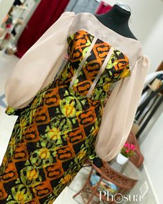 modern ankara styles for ladies:check out 100 most stylish and sexy modern ankar. Short African Dresses, Latest African Fashion Dresses, African Print Dresses, African Print Fashion, Africa Fashion, Ankara Fashion, African Prints, African Fabric, Short Dresses