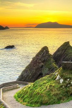 Dunquin, bay in Kerry county Ireland