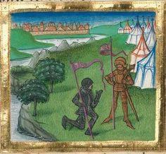 """Furtmeyr-Bibel (Deutsche Bibel """"Münchener Altes Testament""""). Band 1:  Genesis - Ruth. Cgm 8010a 1465-70, Regensburg Folio 349"""