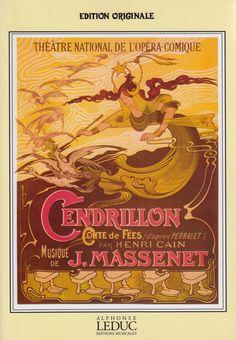 Massenet, Jules. Cendrillon. Reducción para canto y piano.