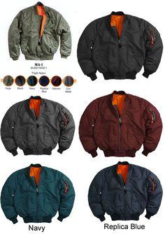 MA-1 Flight Jacket by Alpha Industries #alpha #flightjacket