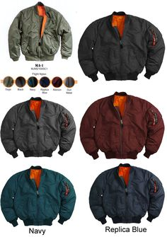 MA-1 Flight Jacket by Alpha Industries #alpha #flightjacket