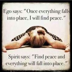 Ego vs spirit