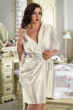 b90c9fa2285a Nine X Satin Dressing Gown Plus Size 8 - 26 Bridesmaid Robe Purple