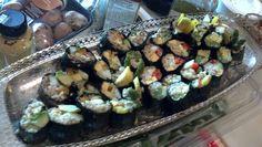 Assorted Vegan Pesto Sushi
