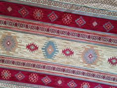 Chenille Fabric, Upholstery Fabric, Wall Hanging, Kilim Fabric, Fabric, Navajo Fabric, Fabric Ottoman, Upholstery, Christmas Fabric