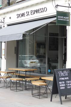 Store St. Espresso, Bloomsbury, London - Store front