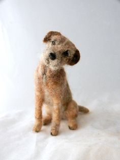 needle felted border terrier | Flickr - Photo Sharing!