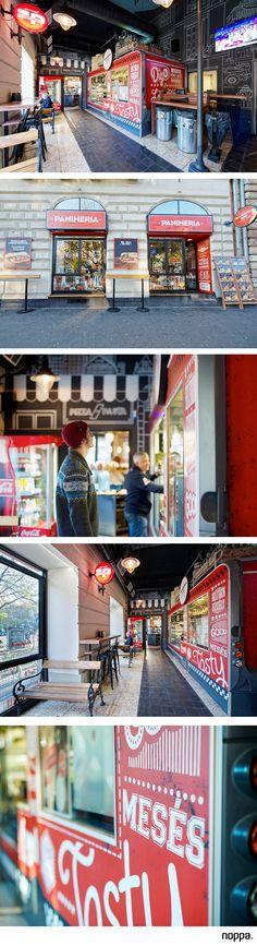 Street design for Panineria sanswichbar  #walldesign #design #graphicdesign #food #restaurantdesign #streetdesign #typography #wall #walls #fastfood