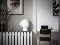 Scandinavian Interior Design, Beautiful Interior Design, Scandinavian Living, Contemporary Interior, Loft Interiors, Dark Interiors, Office Interiors, Diy Radiator Cover, Pastel Interior