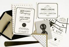 Classic vintage casino wedding invites #saratogasprings