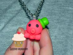 Octopus Necklace by TheHappyFactory118 on Etsy $8