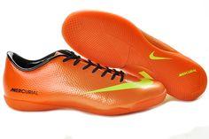 Nike Soccer cleats 2013 - Mercurial Vapor IX IC Indoor Orange Yellow