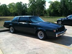 1986 Buick Regal T-Type I Know how you feel, But She would have to be Dressed in Black For me to Kill for Her, I Love my Favorite Lady's Dressed in Black when we go out on the Town & Underneath For Later if you know what I mean.!!!