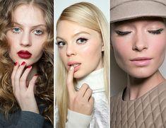 Fall/ Winter 2015-2016 Makeup Trends: Sixties Twiggy Makeup  #makeup #trends #beauty