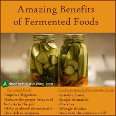 All the benefits of fermented food! http://www.healthy-holistic-living.com/fermented-foods.html