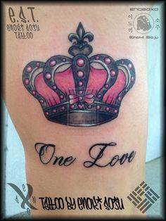 Her Crown Tattoo By Enoki Soju by enokisoju.deviantart.com on @deviantART