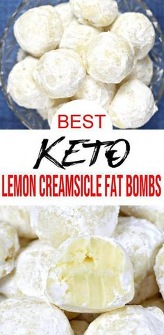 atkins meals Keto fat bombs you are going to love! Keto lemon creamsicle fat bombs that are tasty and delish. Easy keto recipe for the BEST low carb fat bombs. Homemade lemon creamsicle f Keto Foods, Keto Snacks, Low Carb Desserts, Low Carb Recipes, Dessert Recipes, Quick Recipes, Dinner Recipes, Keto Diet List, Ketogenic Diet