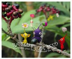 Pikmin! Make them as plant-stakes; put them all over in the potted plants!