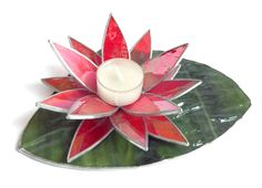 Waterlily Candle Holder by Tom Green. Canadian Artists, Water Lilies, Artist Art, Pretty Flowers, Mothers, Candle Holders, Art Gallery, Candles, Gift Ideas