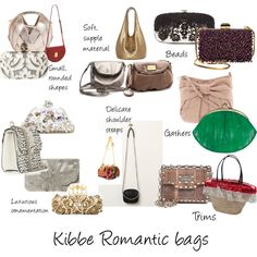 Kibbe Romantic bags by furiana on Polyvore featuring Free People, BeckSöndergaard, Lanvin, Valentino, Oscar de la Renta, Dune, MARC BY MARC JACOBS, Perrin, Alexander McQueen and Lodis